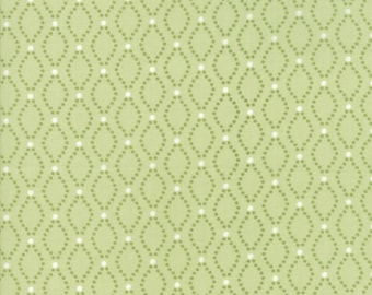 Nest Fabric by Lella Boutiquee for Moda, #5032-13, Sprig, Green - IN STOCK
