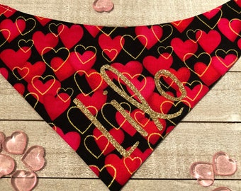 "The ""Queen of Hearts"" Bandana"