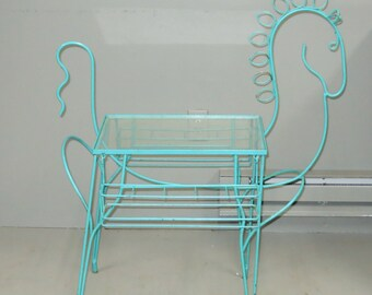 Frederick Weinberg Horse Bar Cart Table