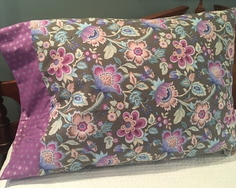 Pillow case, handmade, hand-sewn, original design pillowcase