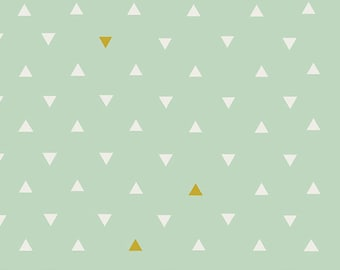 VOILE:  Triangle Tokens Metallic, Art Gallery Fabrics Voile, V-554