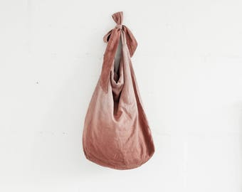 Linen Tote Bag / Large Shoulder Bag / Natural Linen Oversize Bag / Hand Dyed Linen Shopping Bag / Woman Accessories / Flax Beach Bag.