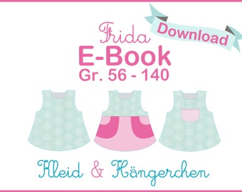 E-Book PDF pattern dress Frida