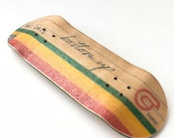 Beta Video Casette Retro Label Wooden Deck