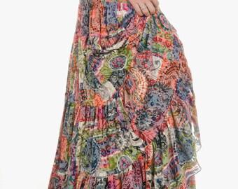 Long skirt TUTTICOLORI