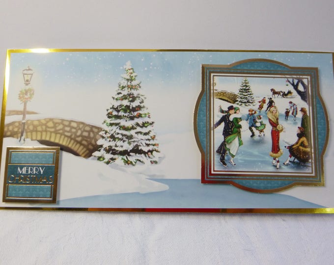 Traditional Christmas Card, Festive Card, Snow Scene, Male or Female, Any Age, Mother, Father, Brother, Sister, Son, Daughter, Niece, Nephew