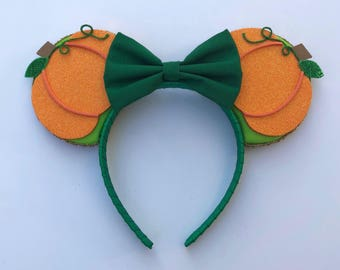 Pumpkin Mouse Ears