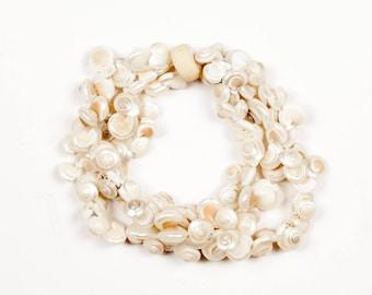 Vintage Seashell Bracelet