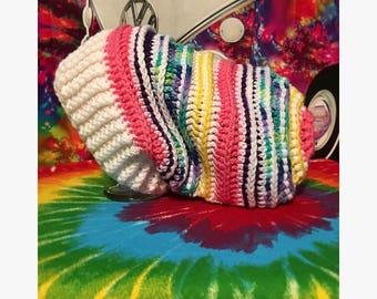 Handmade crochet super slouchy hat: Dreamer