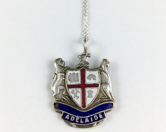 Adelaide Australia, Adelaide Gift, Australia Jewelry, Australia Necklace, Australia Souvenir, Spoon Necklace, Spoon Jewelry, Australia Gift