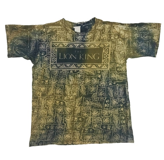 Lion Lion OverPrint FreeShipping Vtg90s OverPrint King Vtg90s King FreeShipping Lion King FreeShipping Vtg90s OverPrint Vtg90s pZPRWW4x