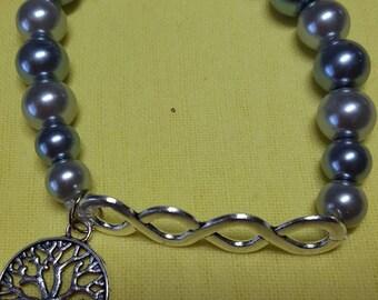 Double infinity bracelet
