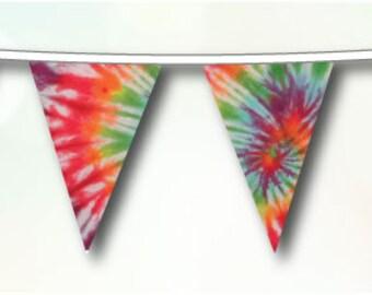 Tie-Dye Bunting
