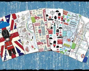 Dividers London for Filofax personal size