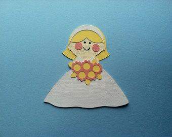 Blushing Bride Paper Piecing