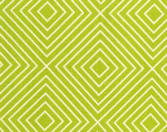 Michael Miller Textured Basics by Patty Young Diamonds in Lime by the Yard