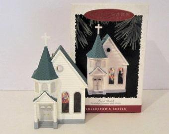 Town Church Hallmark Ornament
