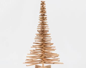 Wooden Christmas tree pinewood