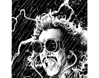 Inktober: Young Frankenstein 8.5x11 Print