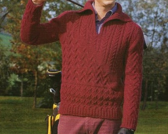 Golf Club Sweater