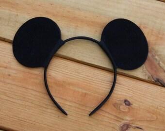Mickey Mouse Inspired Headband