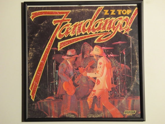 Glittered Record Album - ZZ Top - Fandango