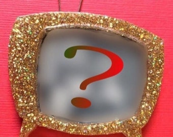 Custom TV Brooch