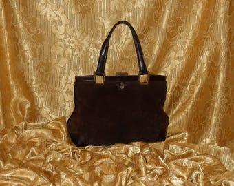 Genuine vintage Emilio Pucci bag - genuine leather