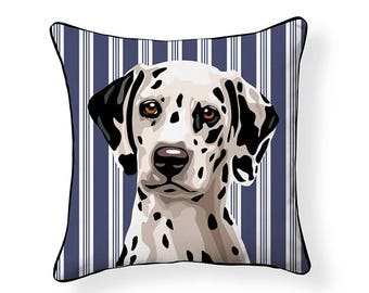 Pooch Decor: Dalmatian Indoor/ Outdoor Pillow