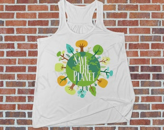 Earth Day Shirt, Save the Earth, Mother Earth, Climate Change Shirt, Environmental Shirt, Give Earth A Chance, Feminists For the Planet