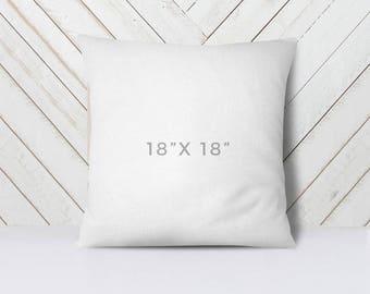 """18"""" x 18"""" Throw Pillow Insert"""
