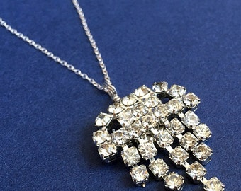 Space Invader Pendant Necklace