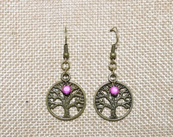 """Tree of life"" earrings"