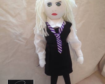 Debbie Harry Inspired Fabric Doll