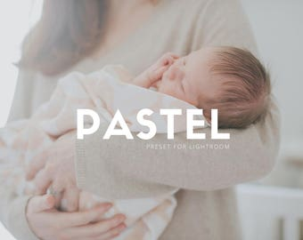 Pastel - Lightroom Preset for Photographers - One Click Edit - With Soft and Airy Film Like Characteristics