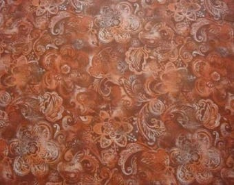 Printed Red Batik-Needlecraft-BTY