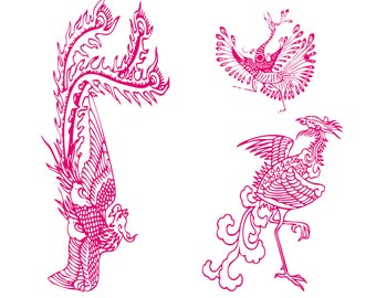 Phoenix download download  svg, png, eps, pdf for cricut, silhouette cut file, vinyl decal,great for T shirt and printing