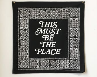 This Must be the Place Bandana