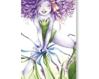 Marque-pages - Ail ! Que la vie est belle !!! - Illustration Delphine GACHE