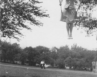 Woman on a Swing 1942