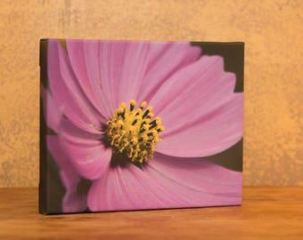 Wildflower art, flower print, nursery decor, girl's room decor, nursery art, purple flower decor, flower art, flower decor, flower canvas