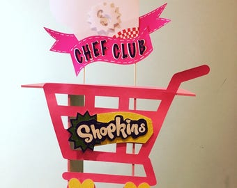 Shopkins Decor Cupcake Stand