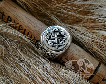 Valkyrie Viking Ring Sterling Silver Ring Scandinavian Norse Viking Jewelry