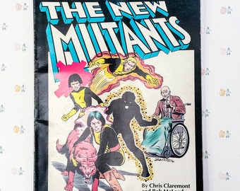1982 New Mutants Marvel Graphic Novel No. 4 | Comic Book Gift for Comic Book Fan | Marvel Gifts Comic Book Lover | Brother Gift Comic Marvel