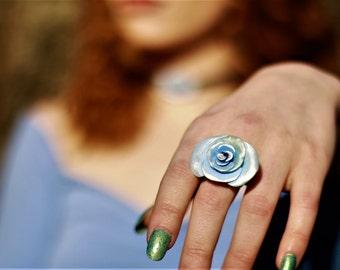 Winter Rose Ring