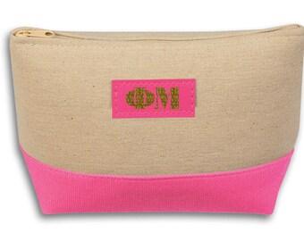 Phi Mu Allure Cosmetic Bag
