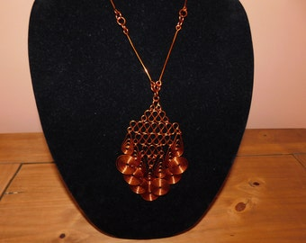 AMAZING COPPER NECKLACE - A Work of Art
