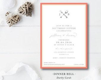 Dinner Bell Invitations