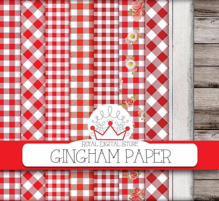 Gingham Scrapbook Paper Gingham Scrapbook Paper Hobby Lobby 2 Bo