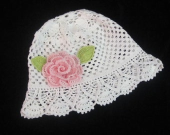 Baby Sun Hat, Baby Girl Sun Hat, Crochet Panama Hats Baby Panama Hat Toddler Summer Girl Brim Hat White Panama Sun Hat Toddler Beach Sun Hat
